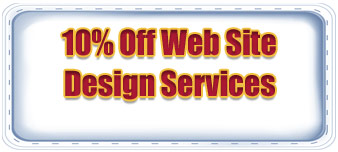 10% off Web site Design Services coupon